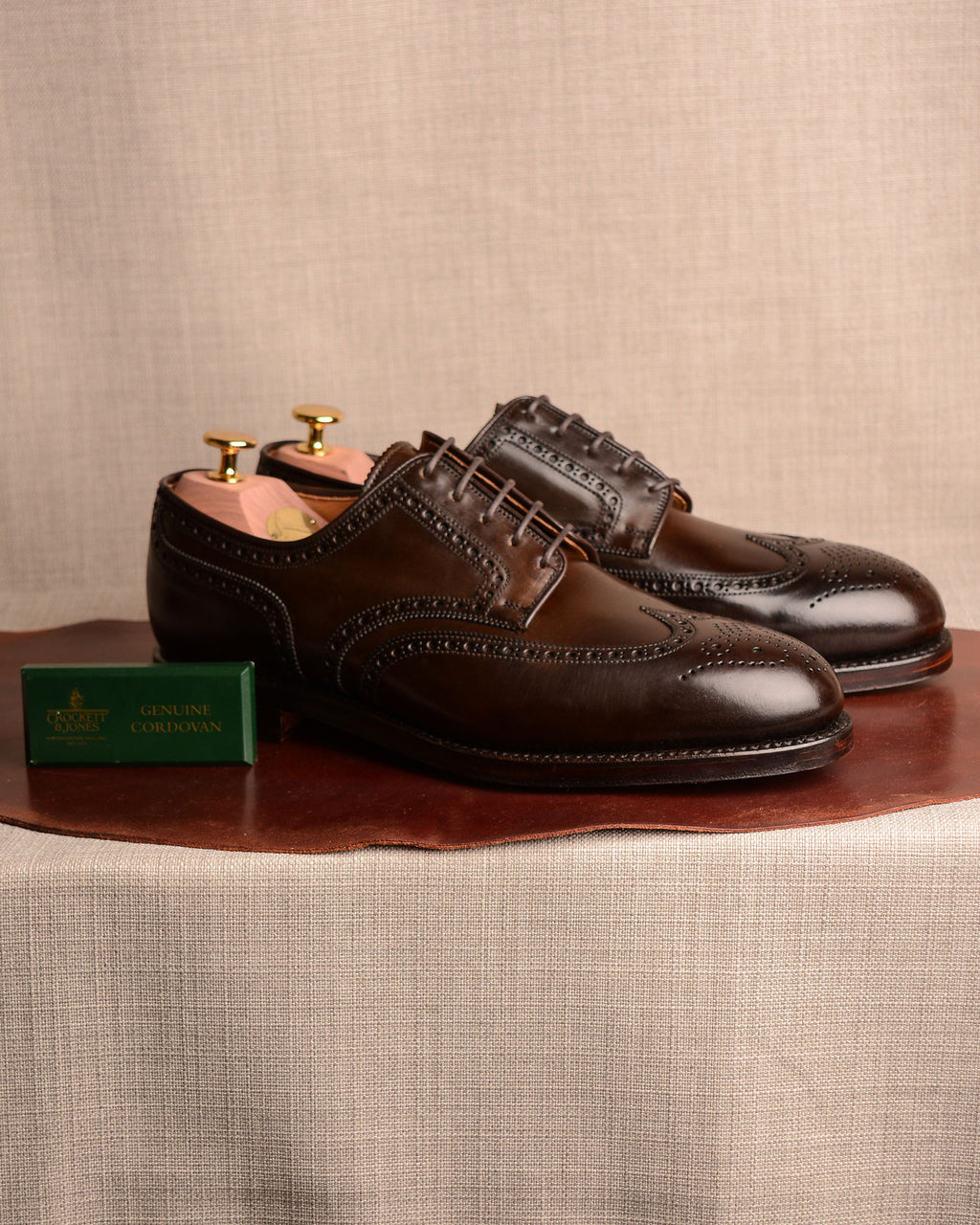 Crockett & Jones Cardiff - Dark Brown Cordovan