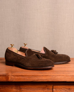 Crockett & Jones Cavendish - Dark Brown Suede