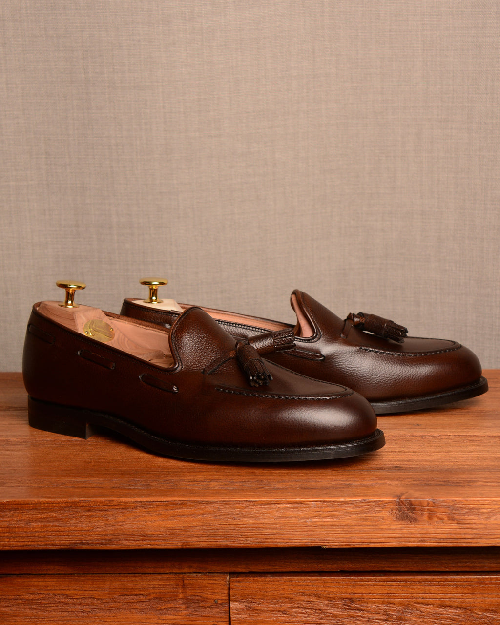 Crockett & Jones Cavendish - Brown Grain