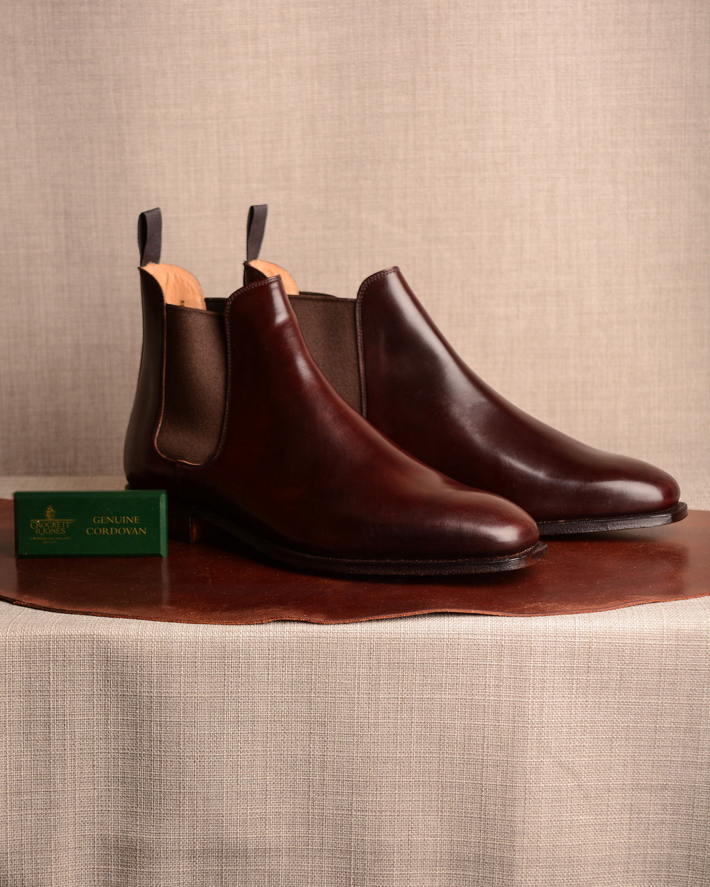 Crockett & Jones Chelsea - Col.8 Cordovan