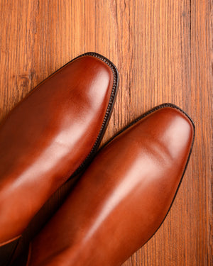 Crockett & Jones Chelsea - Chestnut