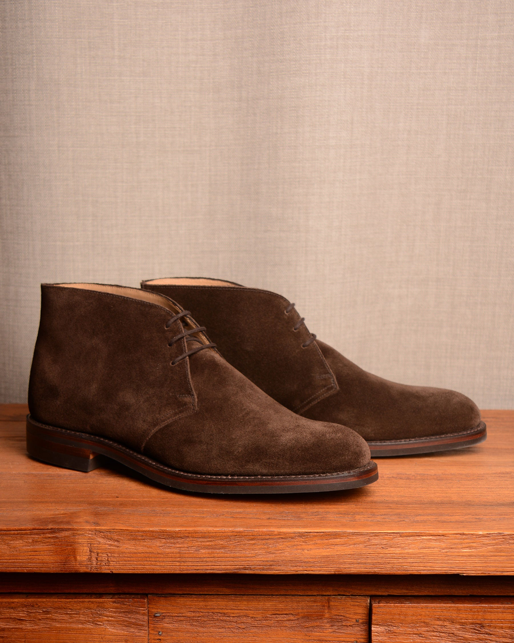 Crockett & Jones Chiltern - Dark Brown Suede