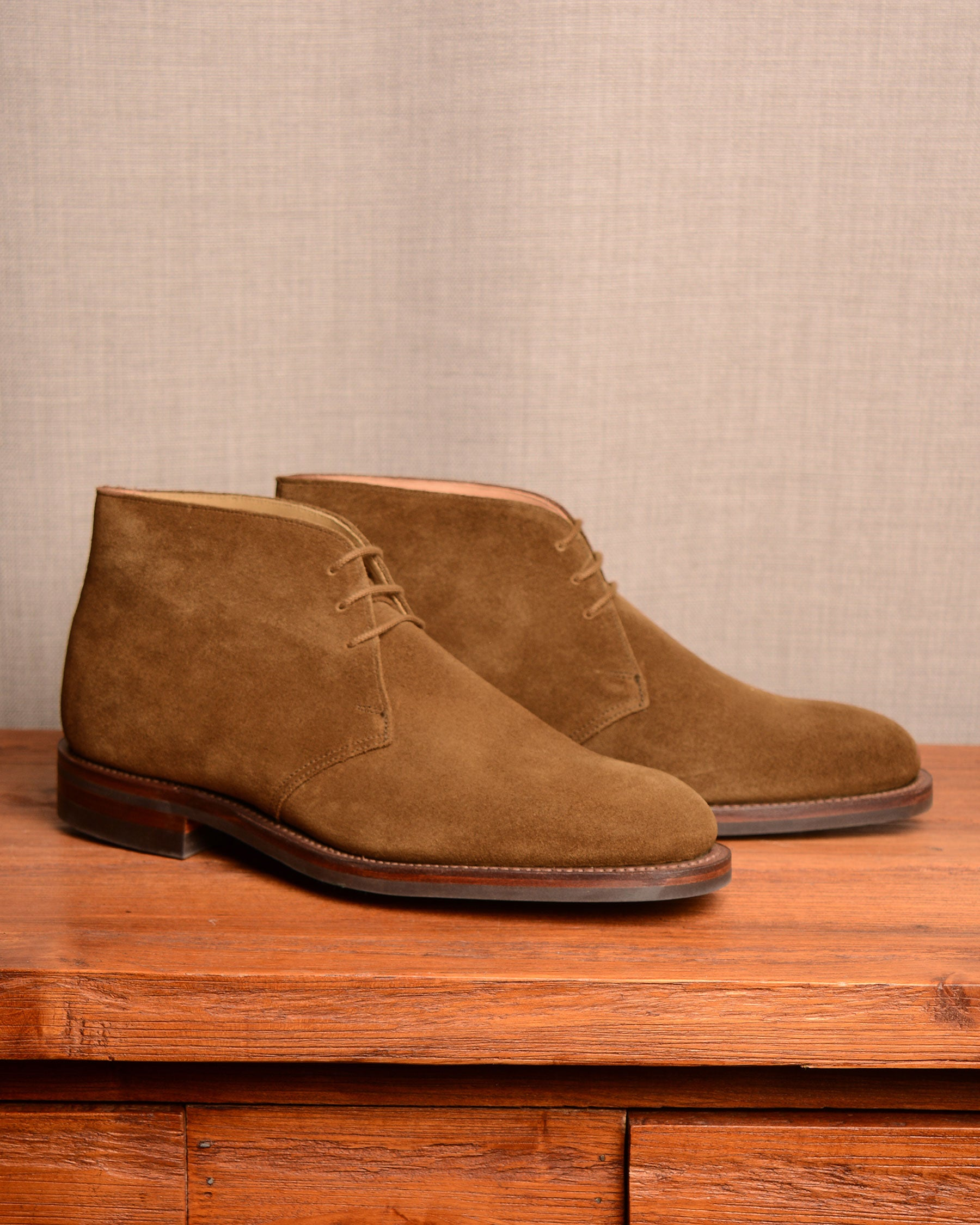 Crockett & Jones Chiltern - Snuff Suede