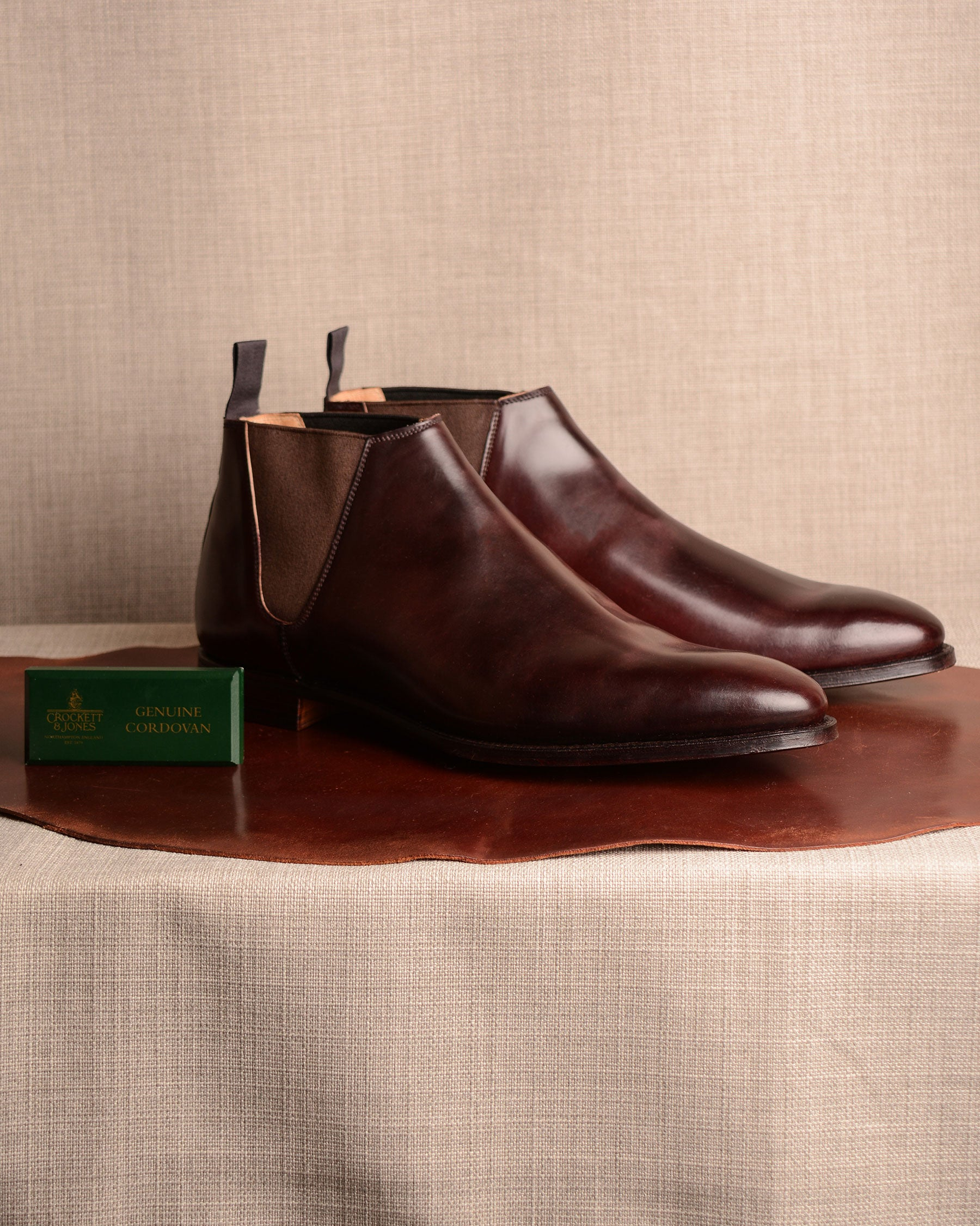 Crockett & Jones Cranford - Col.8 Cordovan