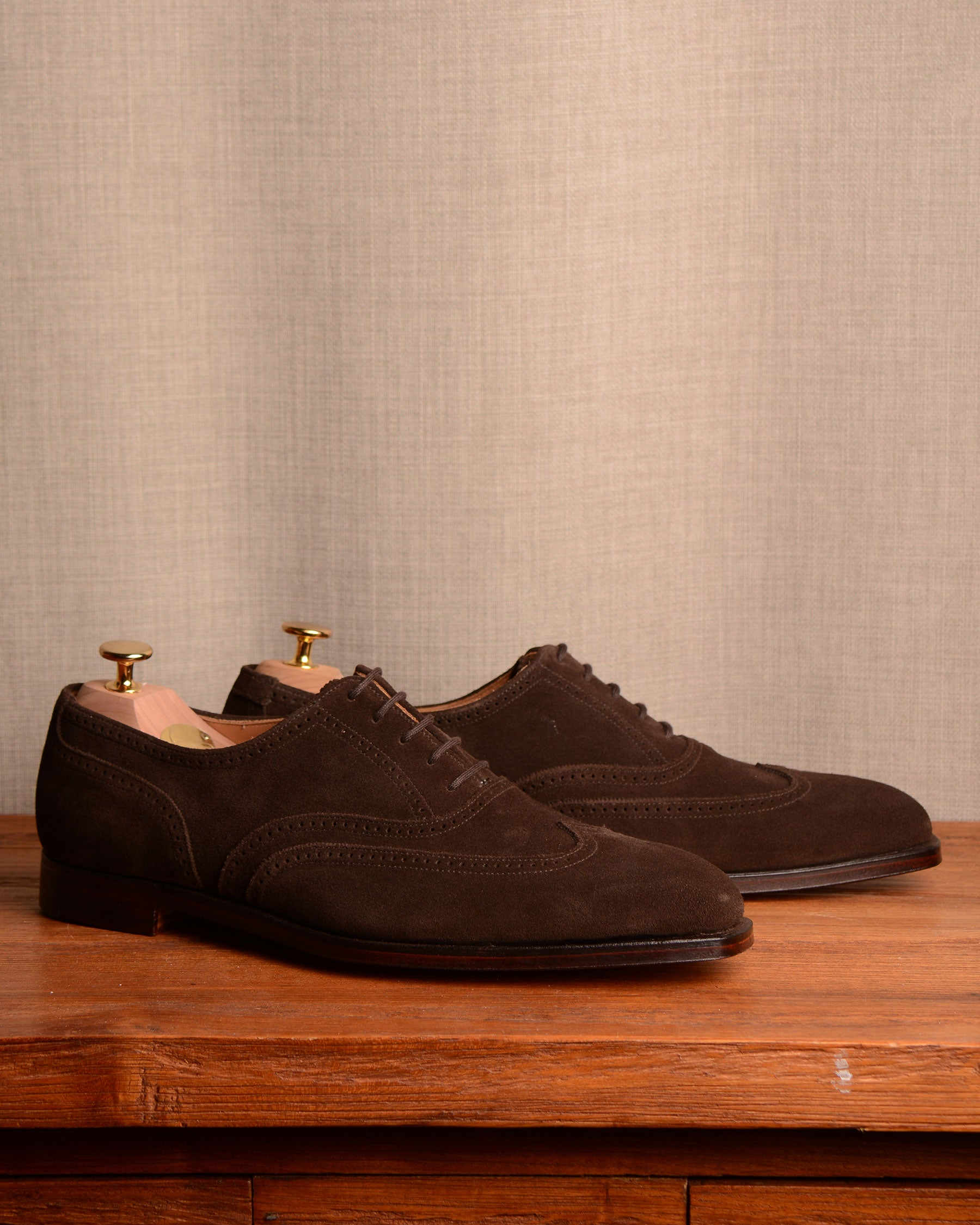 Crockett & Jones Drummond - Dark Brown Suede