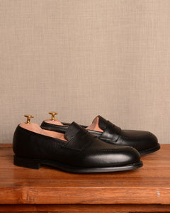 Crockett & Jones Eaton 2 - Black Pebble Grain