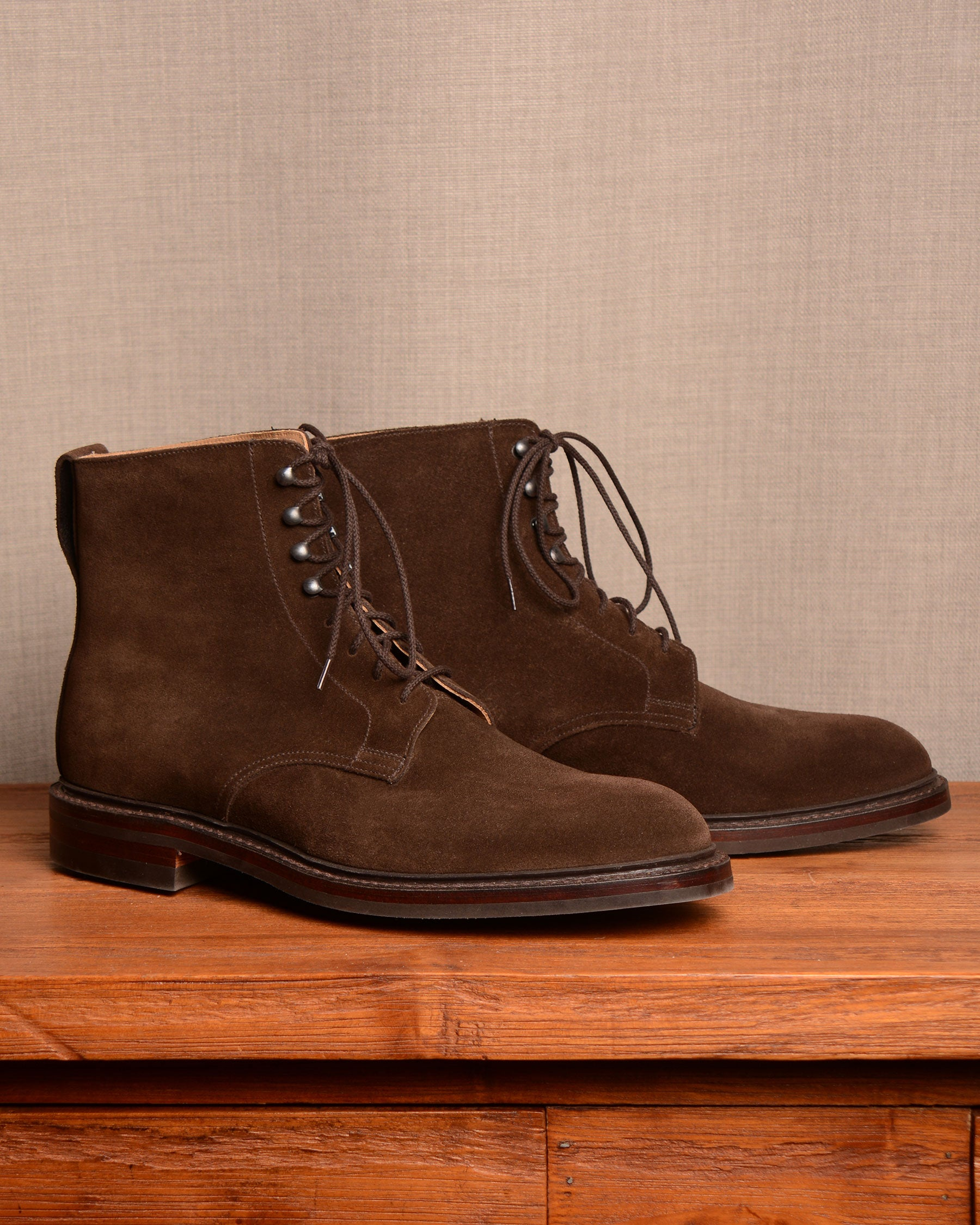 Crockett & Jones Eskdale 2 - Dark Brown Suede