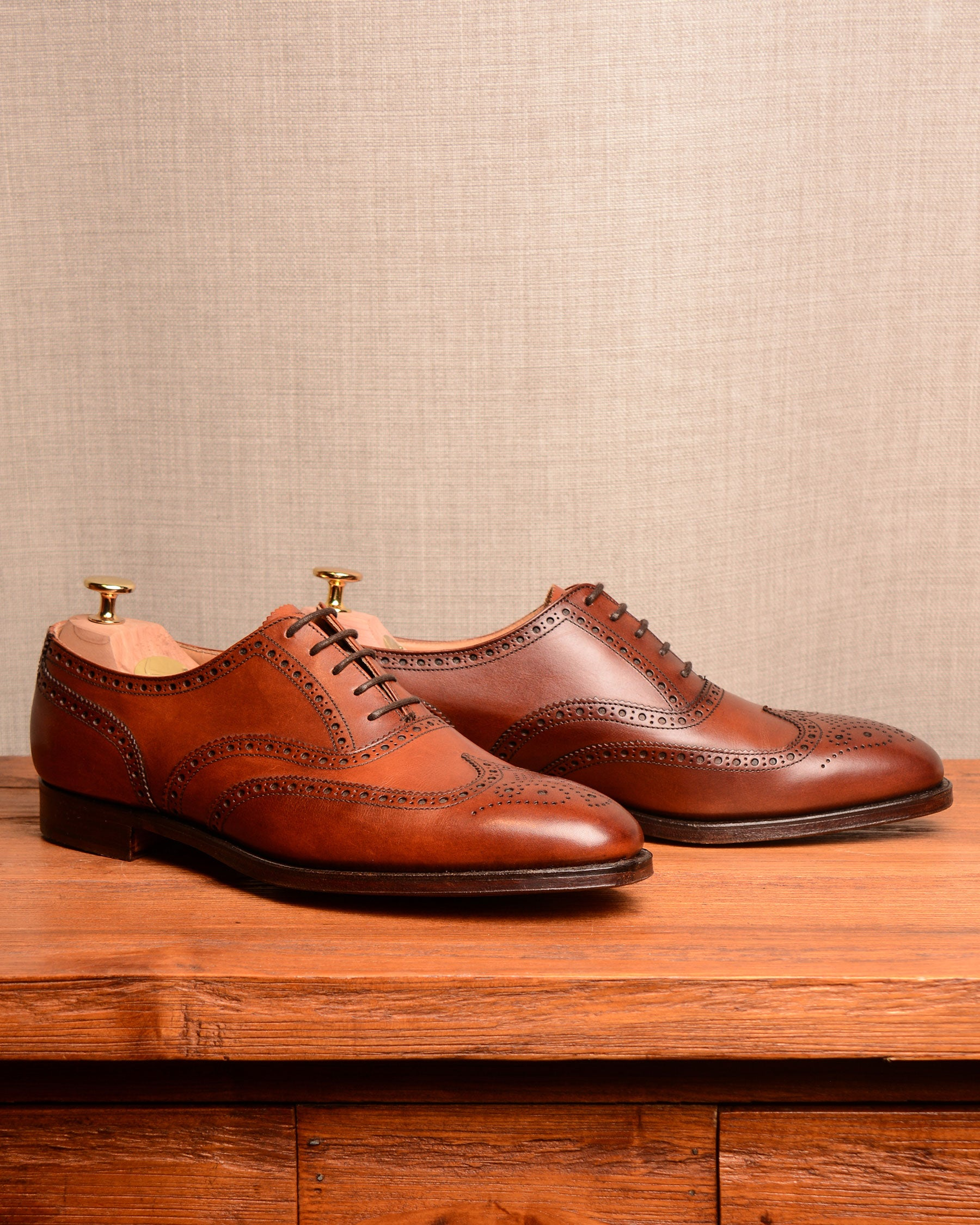 Crockett & Jones Finsbury - Chestnut