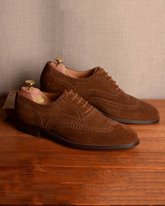 Crockett & Jones Finsbury - Snuff Suede