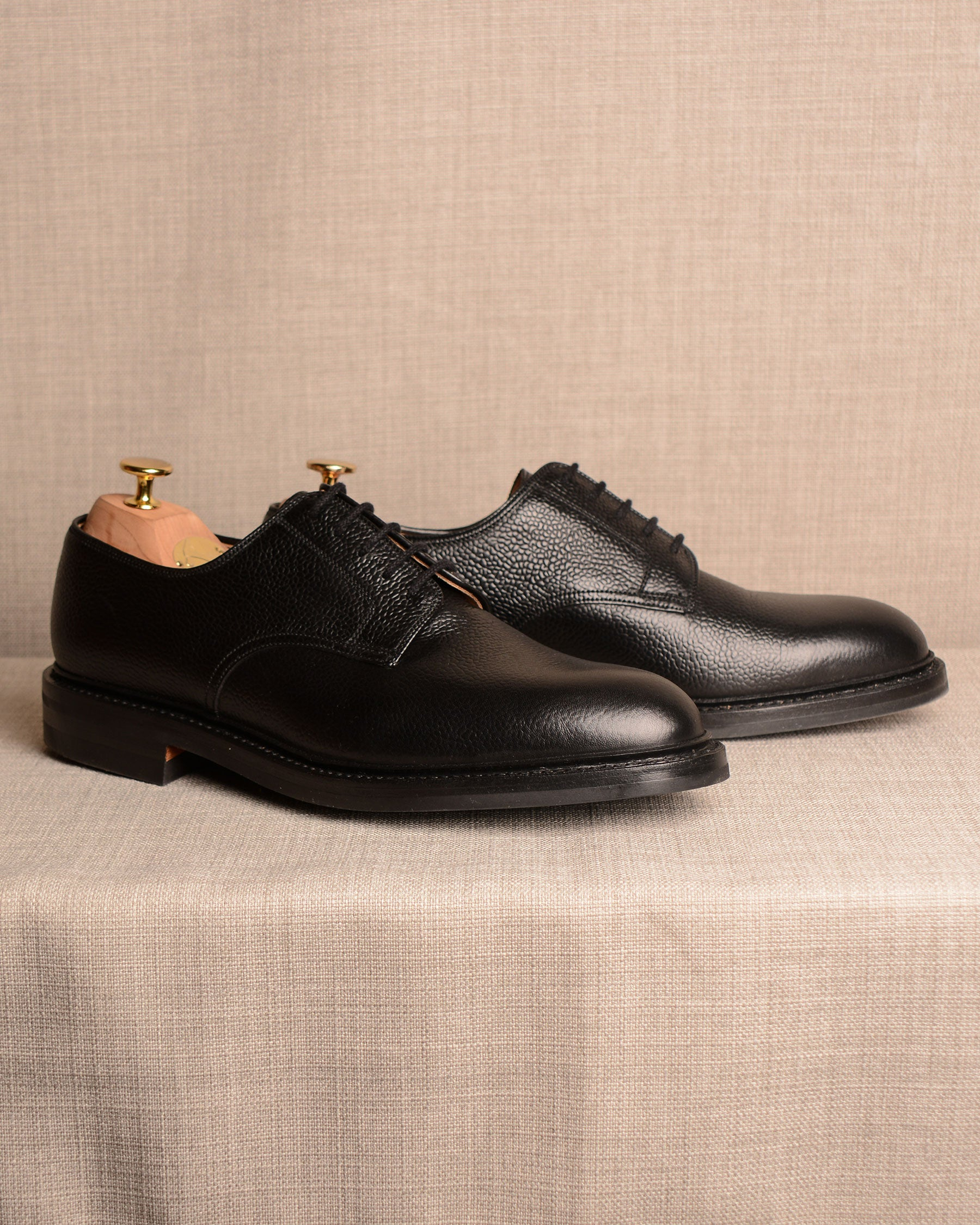 Crockett & Jones Grasmere - Black Grain