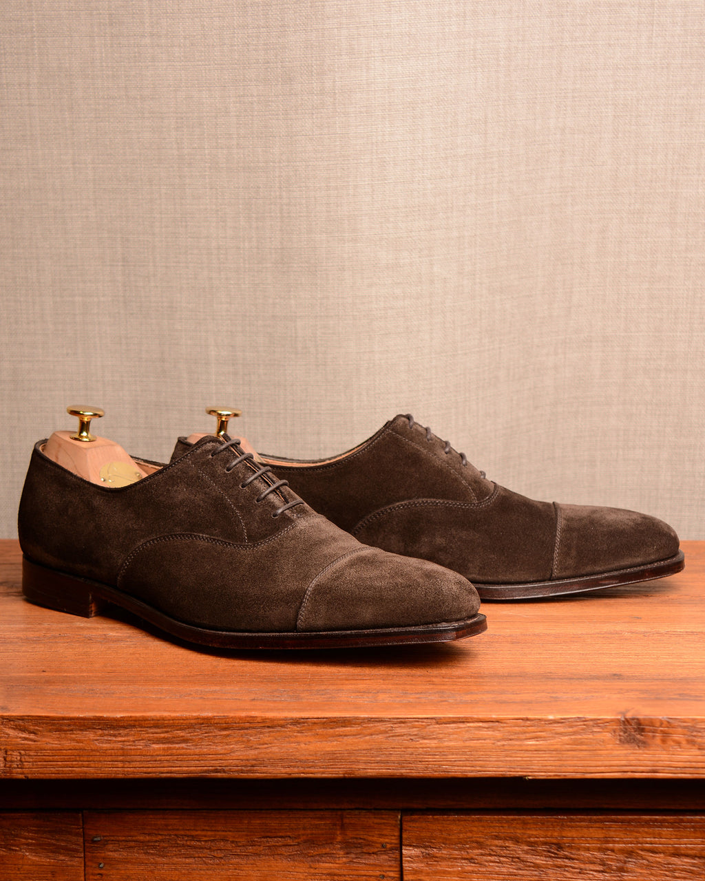 Crockett & Jones Hallam - Espresso Suede
