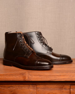 Crockett & Jones Harlech - Dark Brown Cordovan