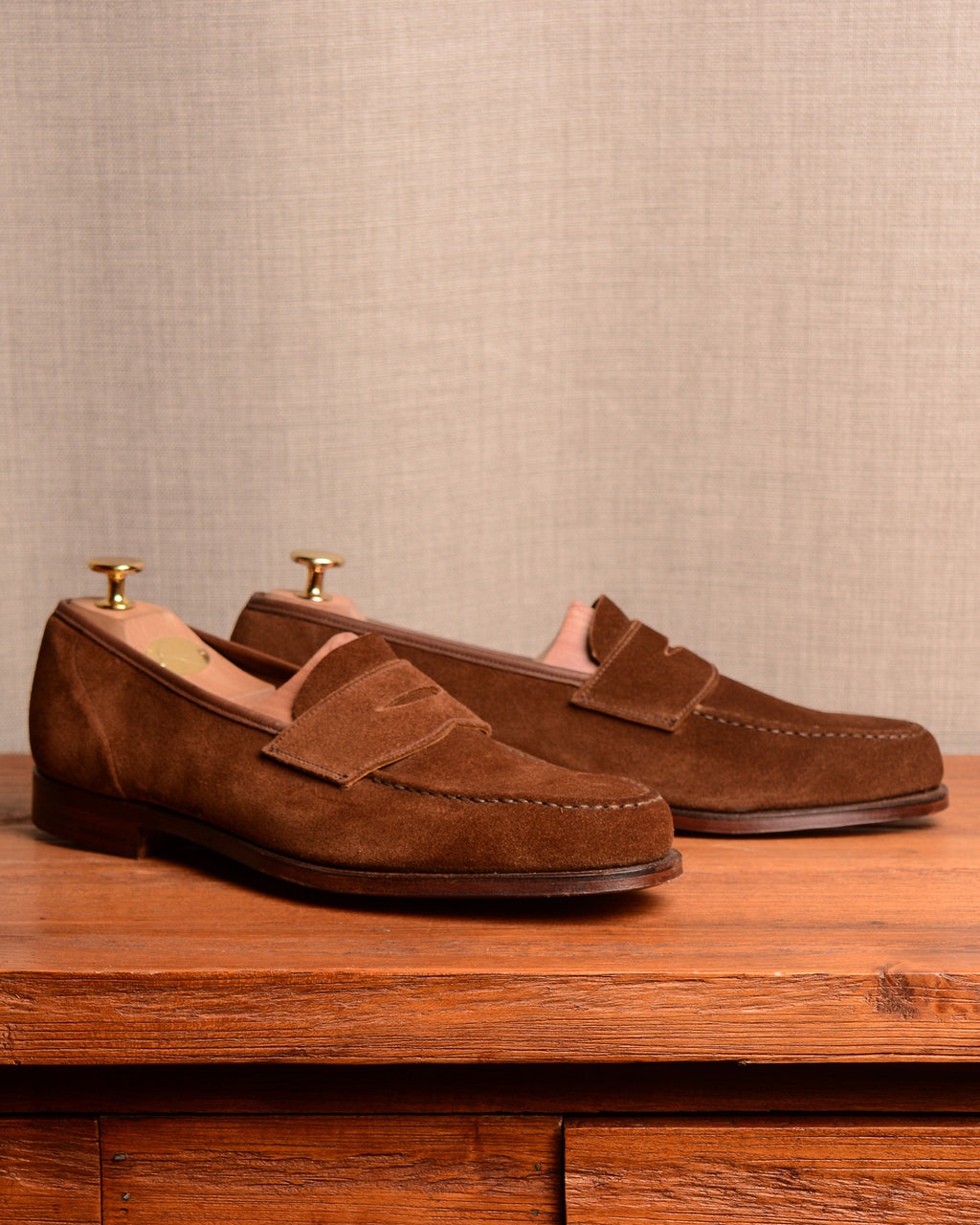 Crockett & Jones Harvard 2 - Tobacco Suede