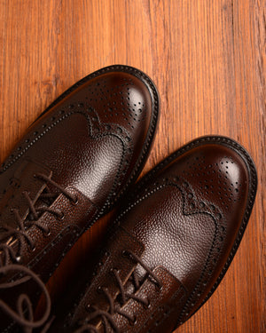 Crockett & Jones Islay - Dark Brown Grain