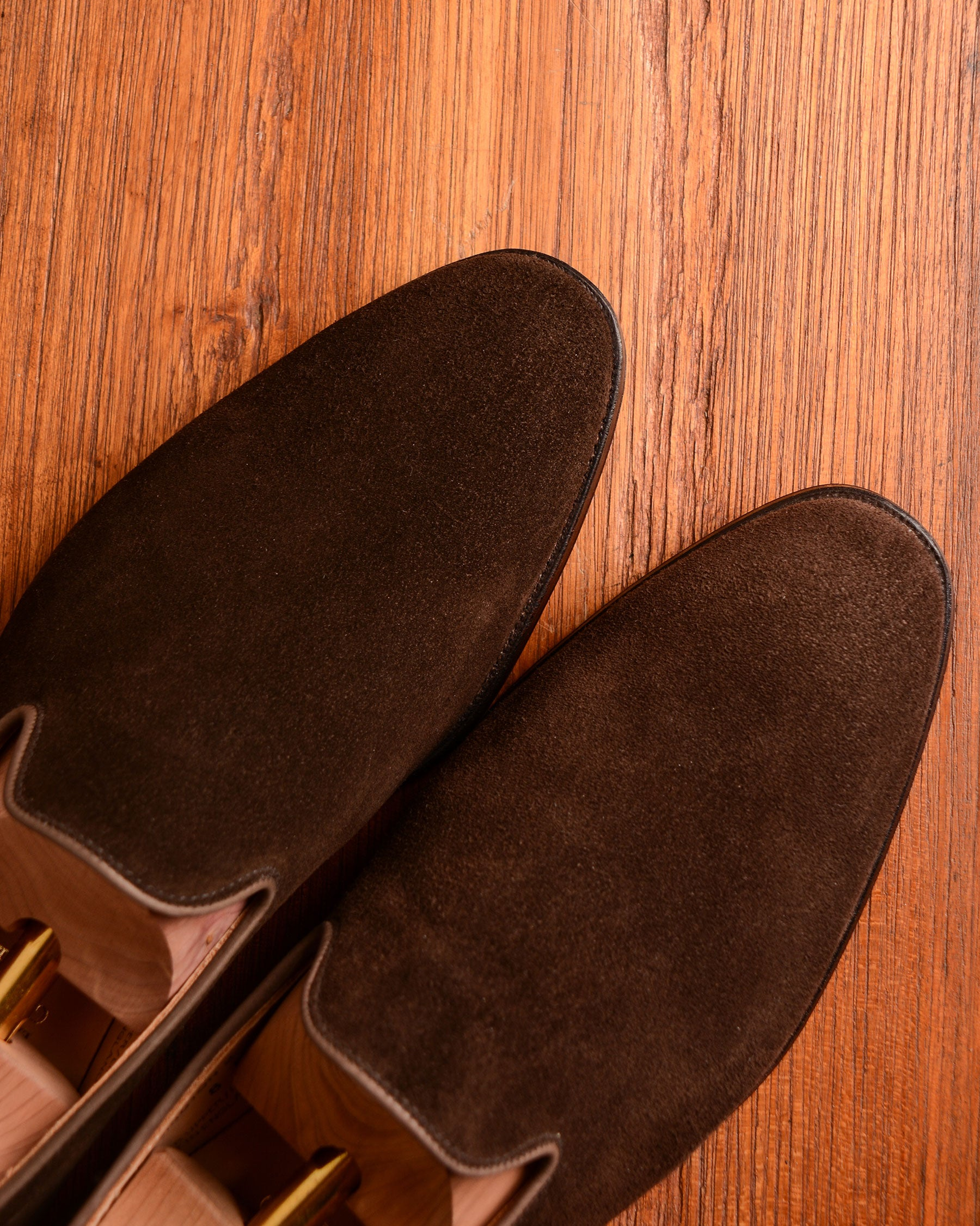 Crockett & Jones Kensington - Dark Brown Suede