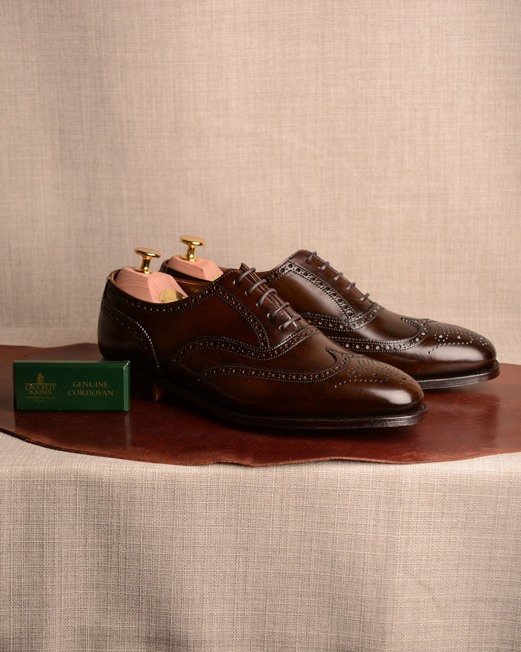 Crockett & Jones London 2 - Dark Brown Cordovan