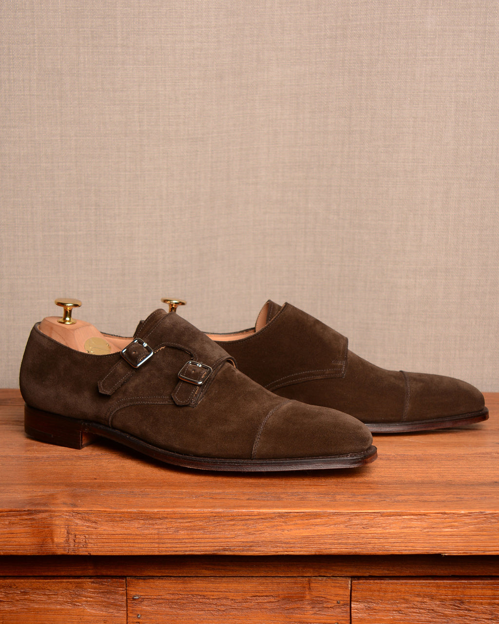 Crockett & Jones Lowndes - Espresso Suede