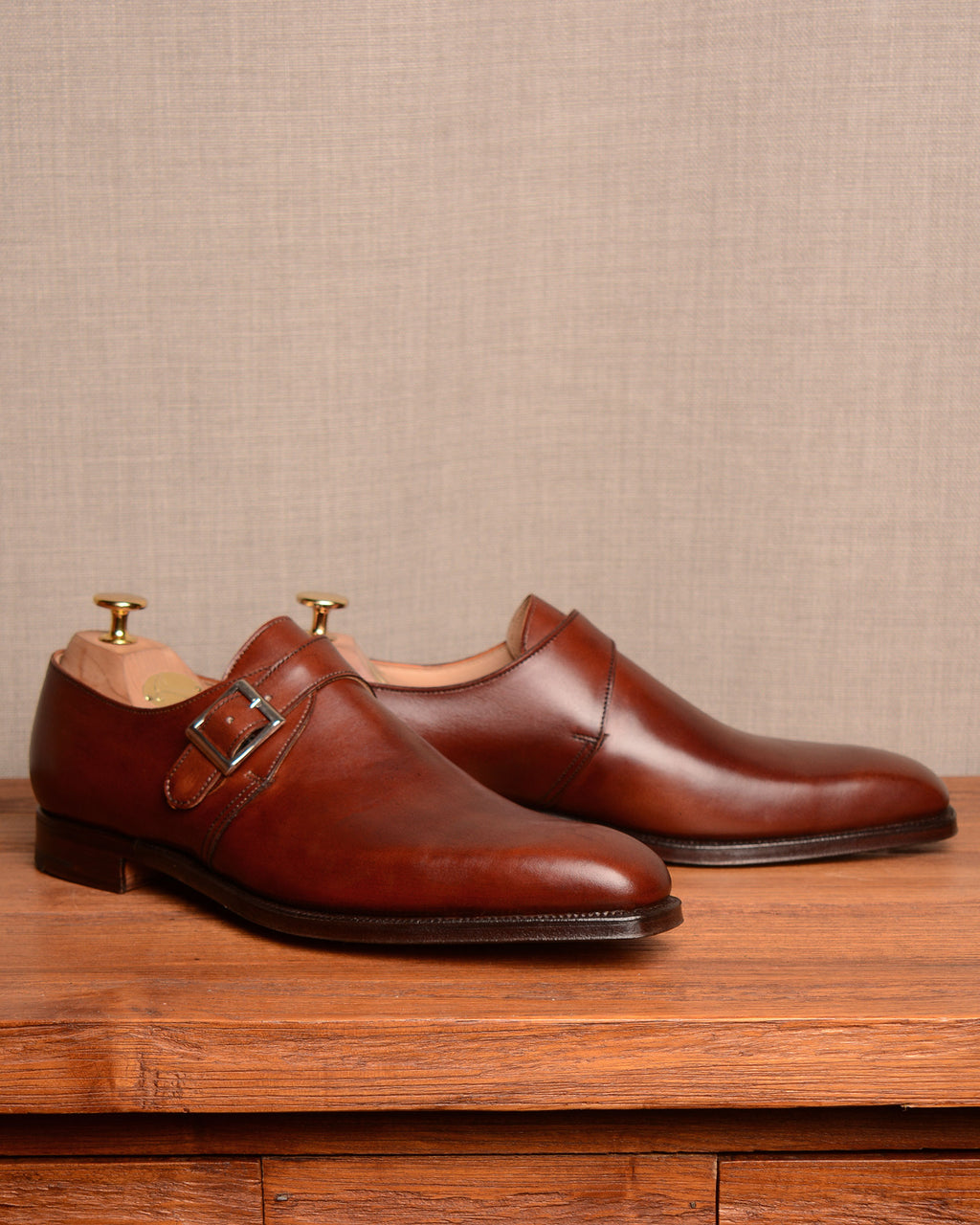 Crockett & Jones Monkton - Chestnut