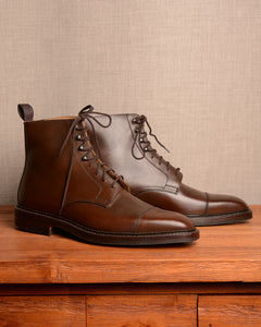 Crockett & Jones Northcote - Brown Wax Calf