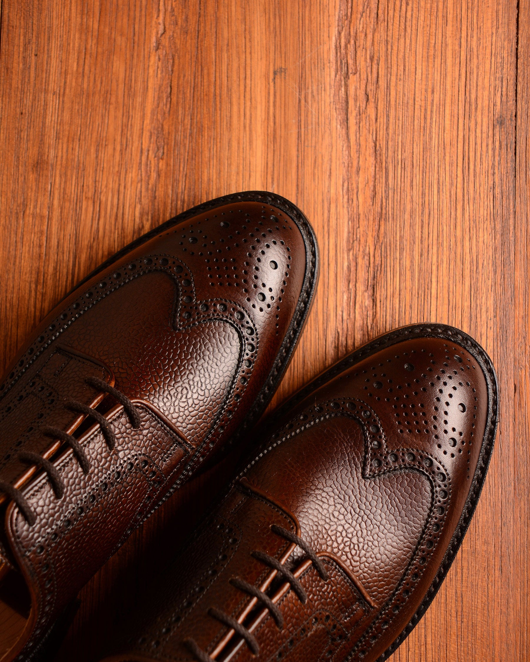 Crockett & Jones Pembroke - Dark Brown Grain