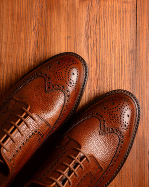 Crockett & Jones Pembroke - Tan Grain G-Width