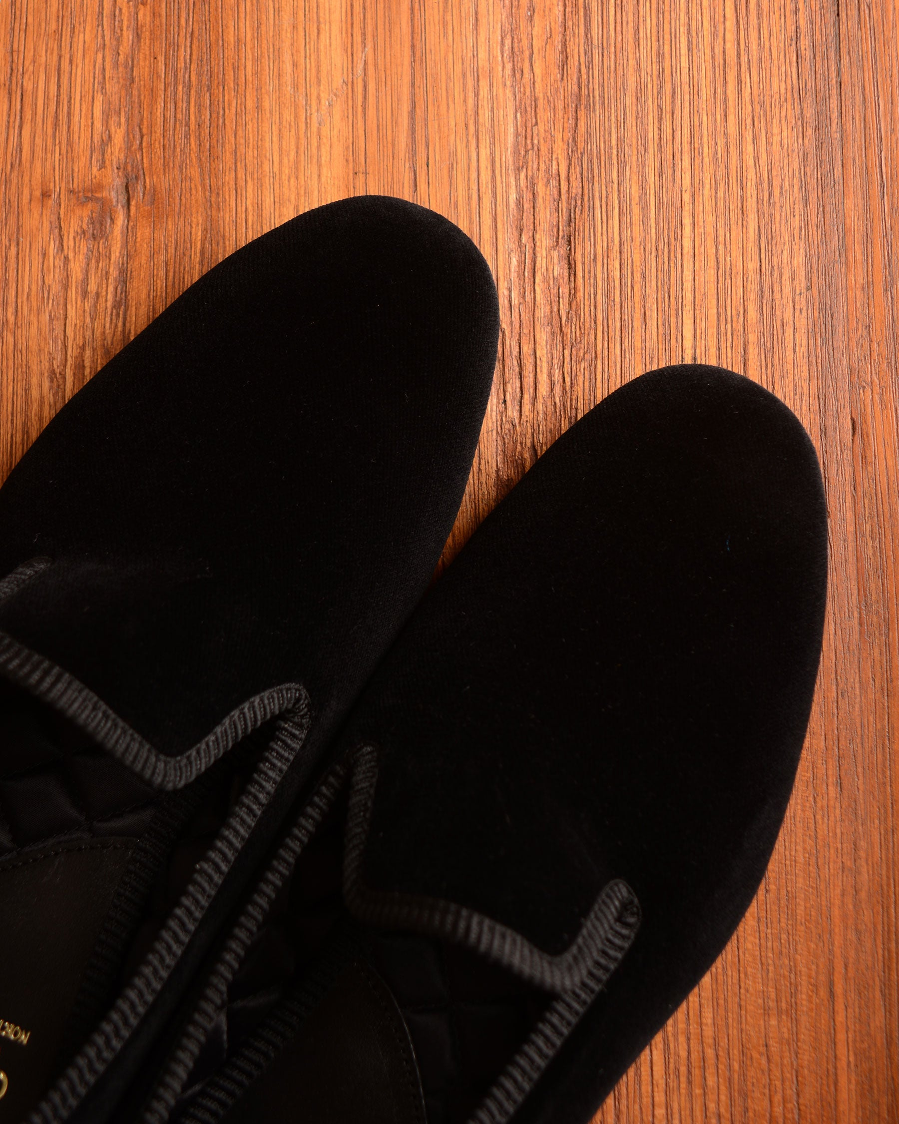 Crockett & Jones Slipper - Black