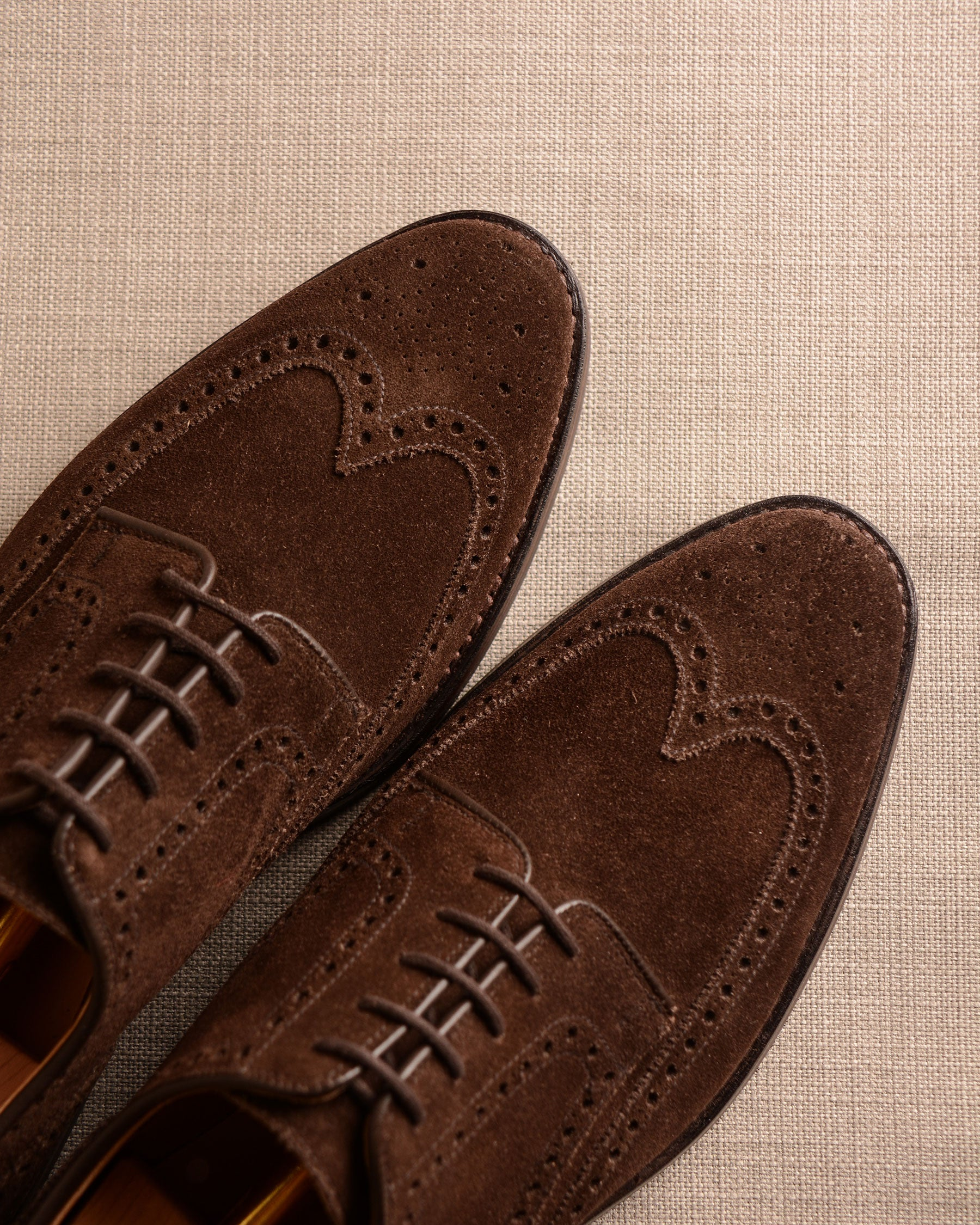 Crockett & Jones Swansea - Brown Suede