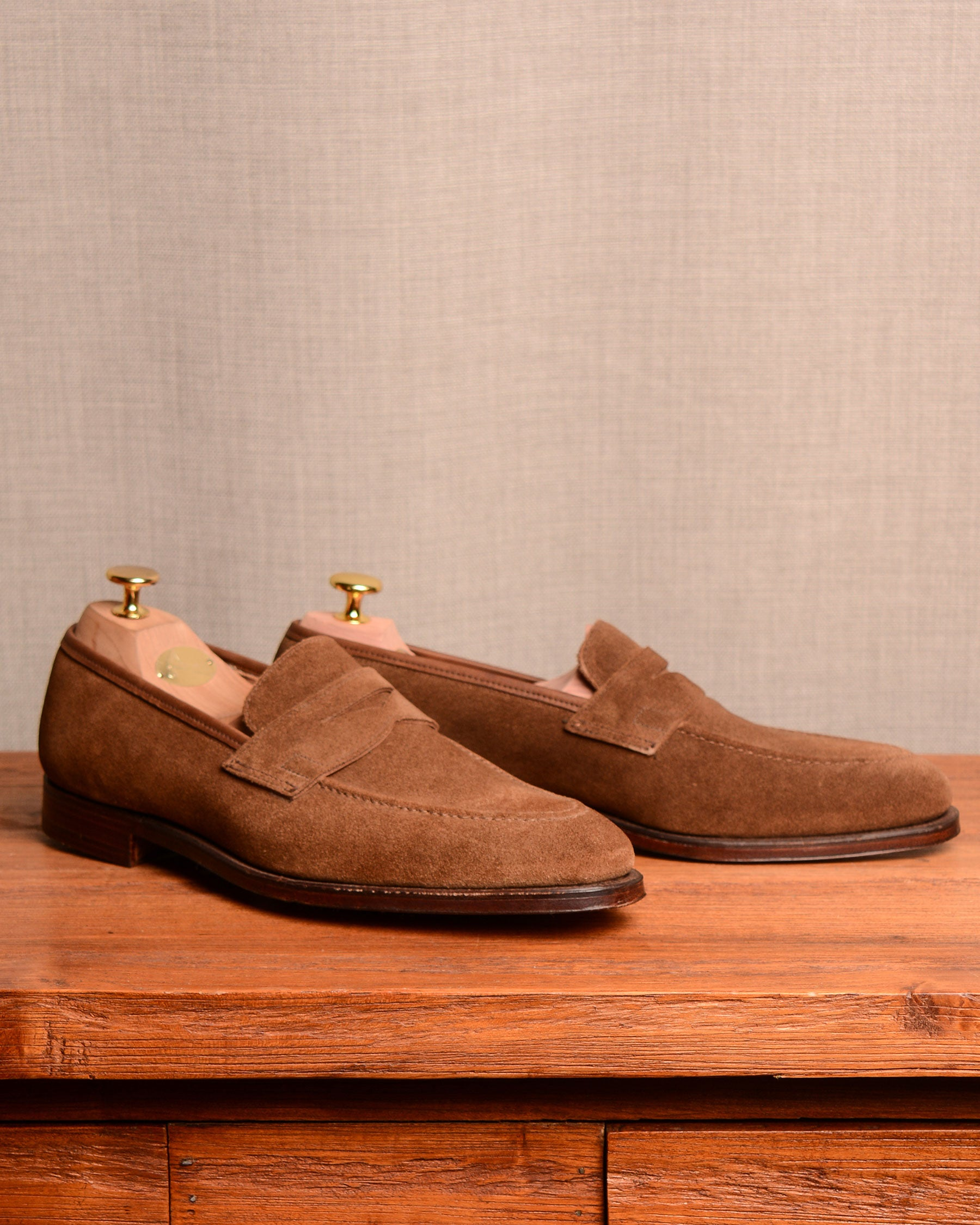 Crockett & Jones Sydney - Snuff Suede