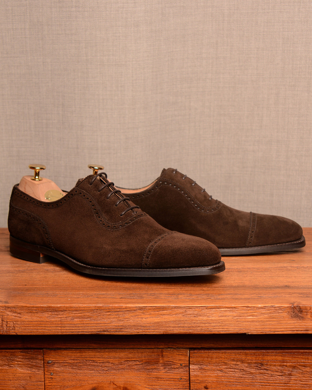 Crockett & Jones Westbourne - Dark Brown Suede