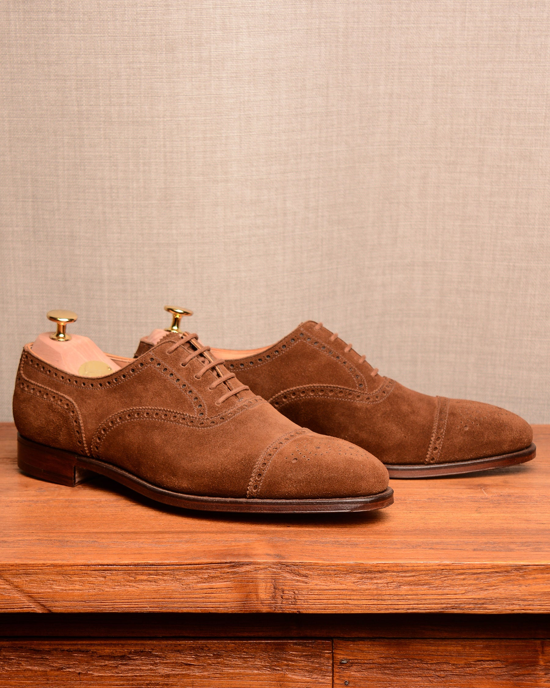 Crockett & Jones Westfield - Tobacco Suede