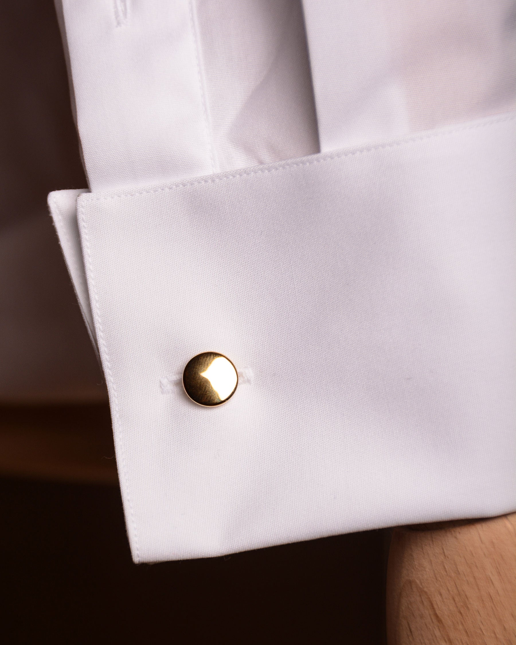 Codis Maya - Bow Cufflinks Brass