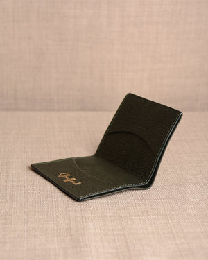Grafford Leather Goods - Racing Green Wallet