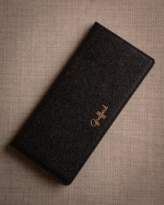 Grafford Leather Goods - Black Coat Wallet