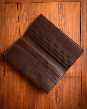 Grafford Leather Goods - Brown Coat Wallet
