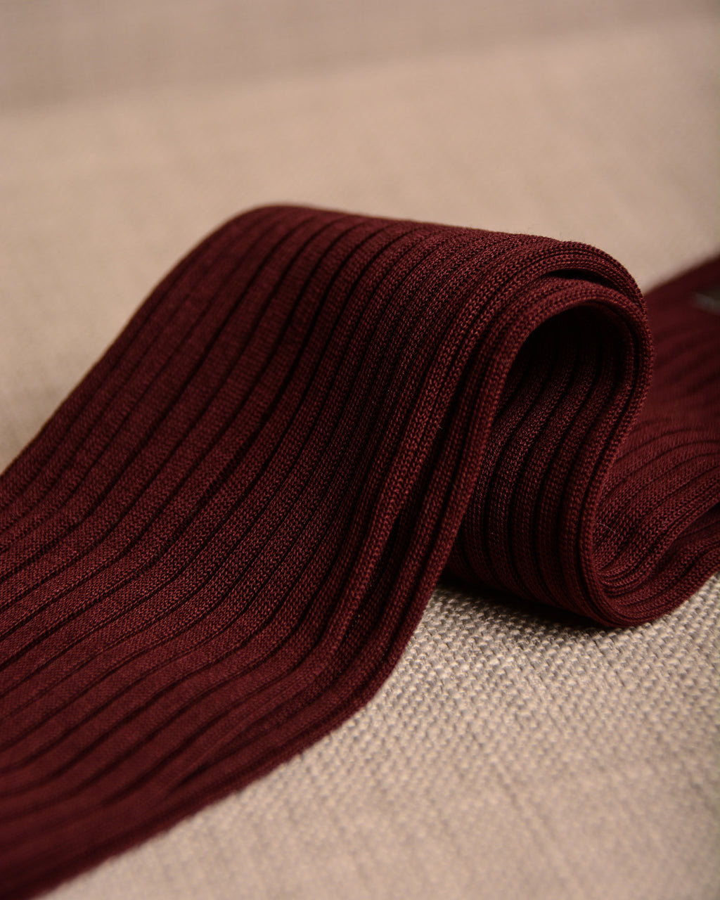 Pantherella Socks - Cotton Burgundy