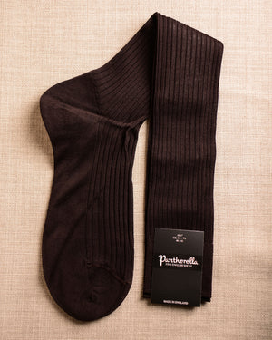 Pantherella Socks - Cotton Espresso