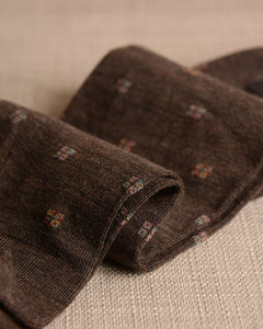 Pantherella Socks - Wool Diamond Cocoa