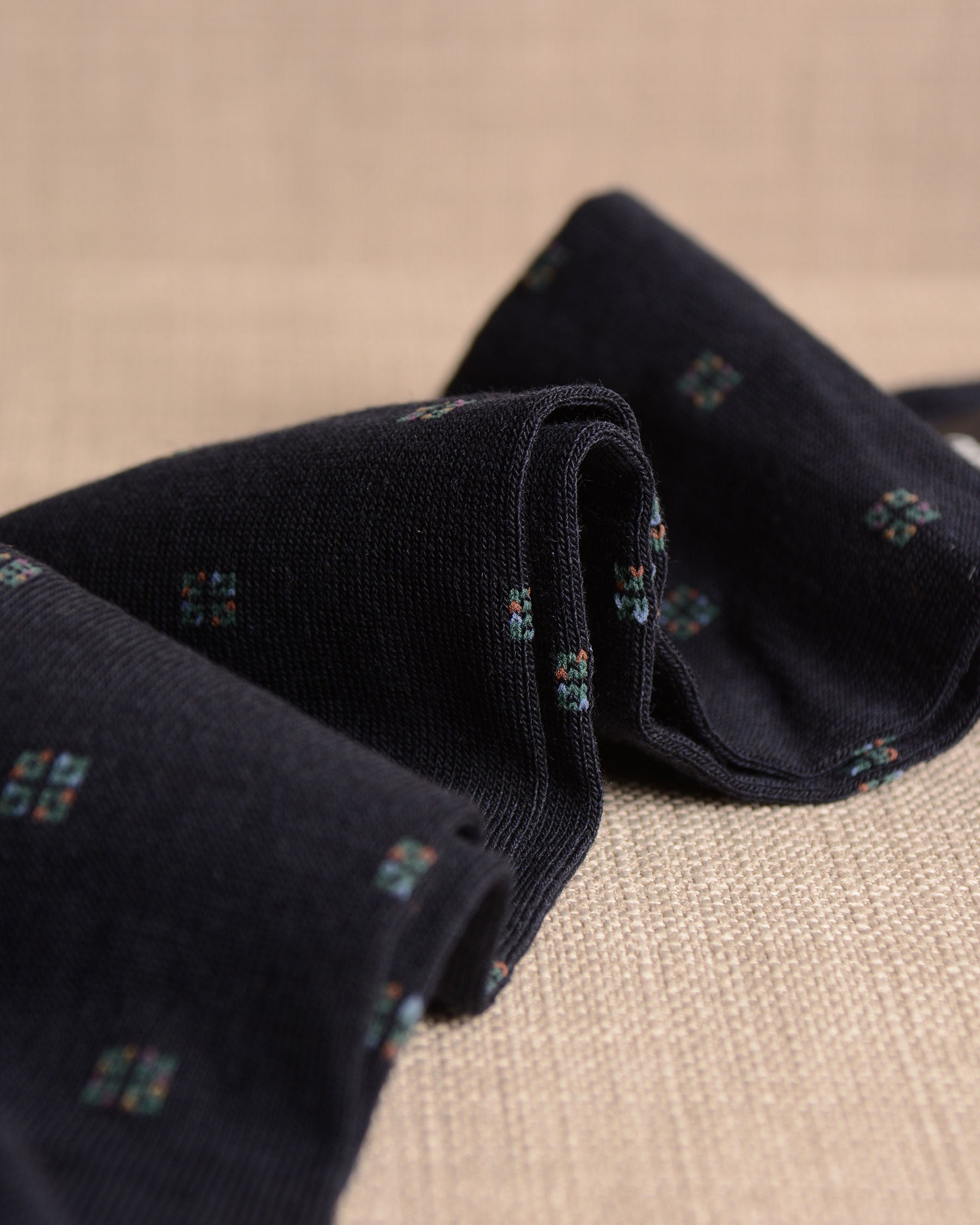 Pantherella Socks - Wool Diamond Navy