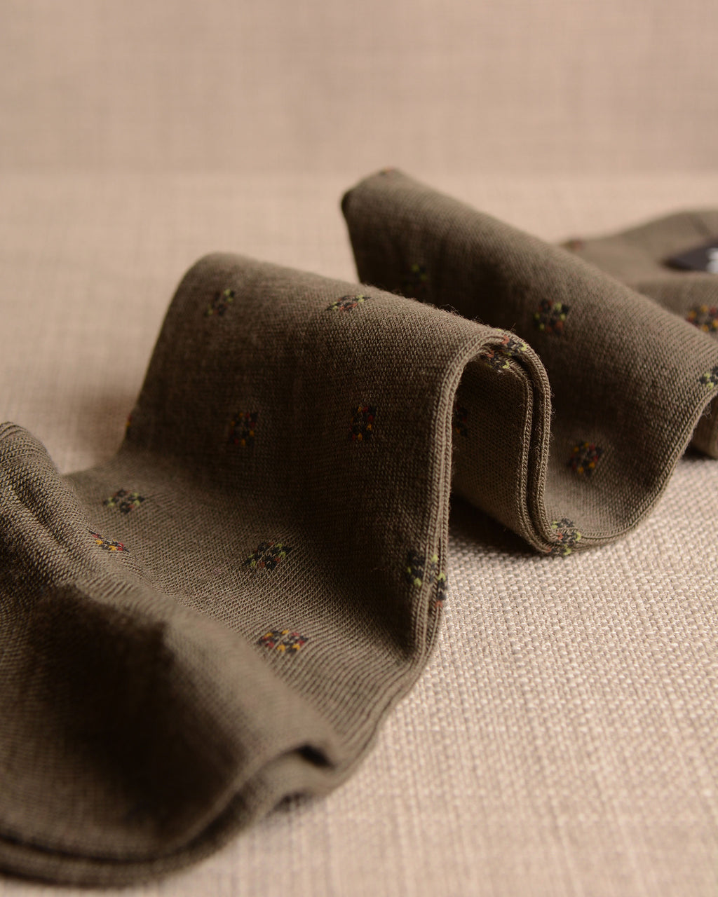 Pantherella Socks - Wool Diamond Olive