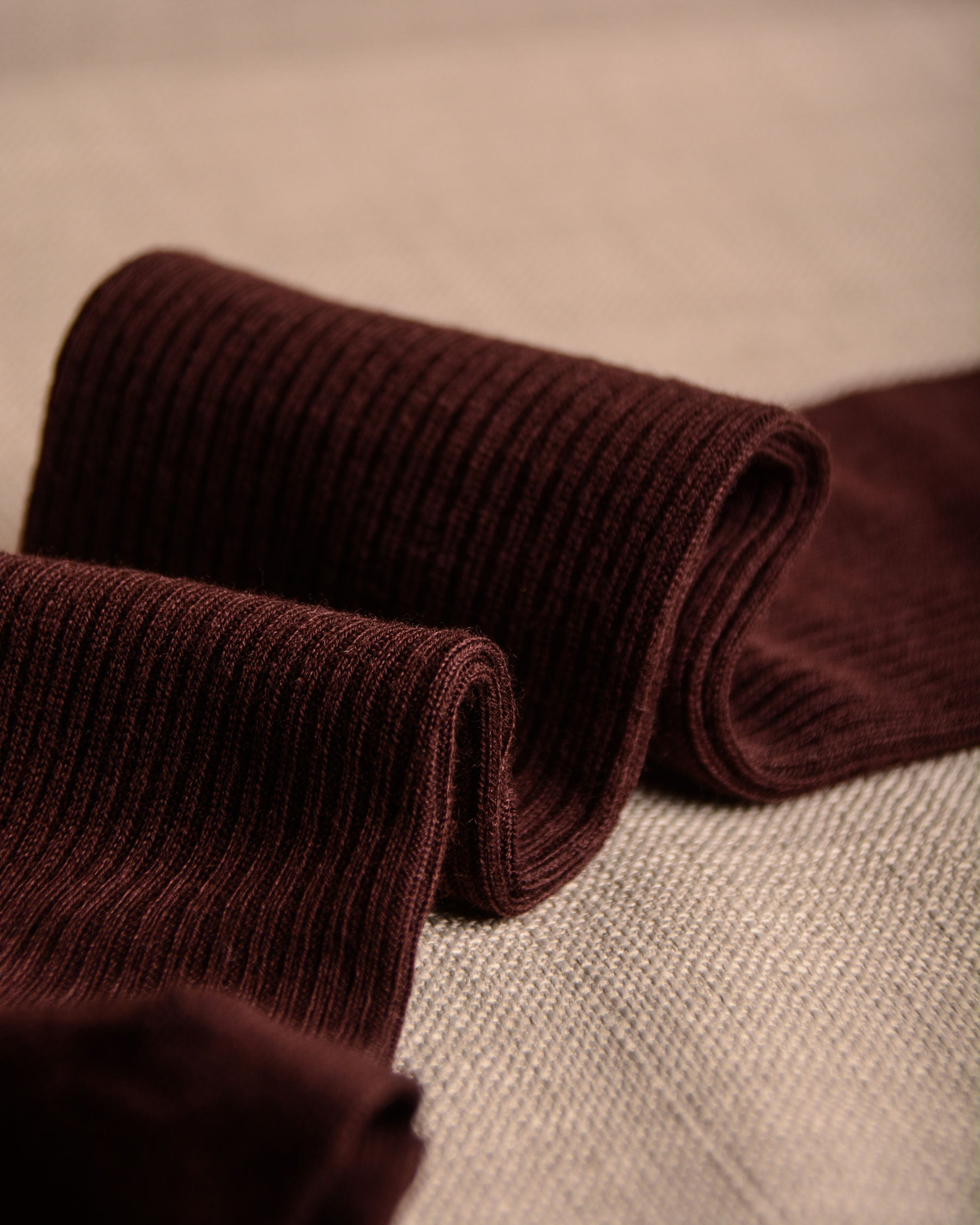 Pantherella Socks - Wool Burgundy