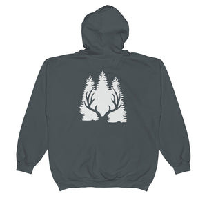 BP backside logo Unisex  Zip Hoodie