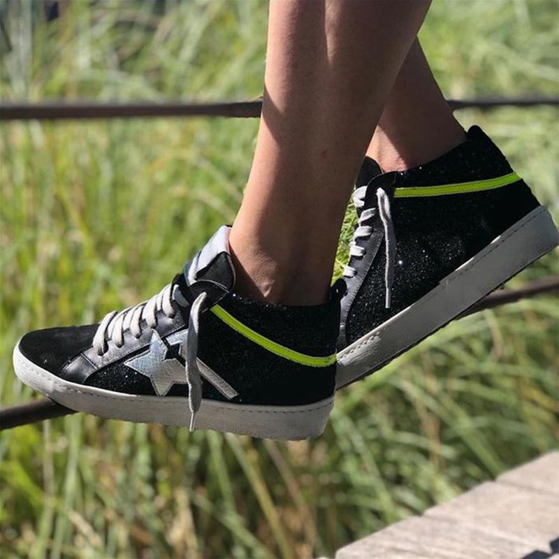 Women's Daily High Top Flat Sneakers