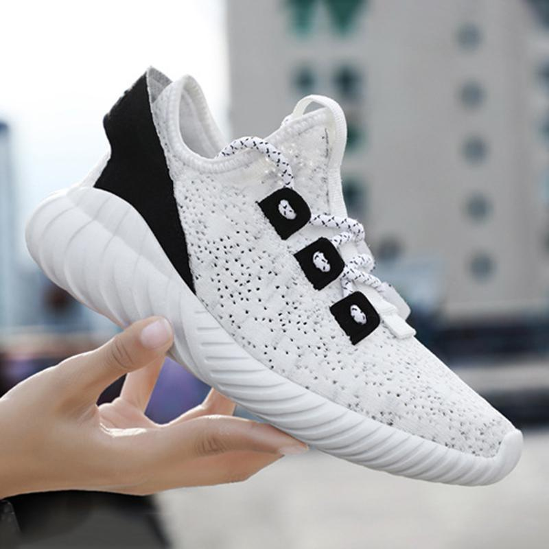 Women Casual Lace-Up Flat Heel Sneakers