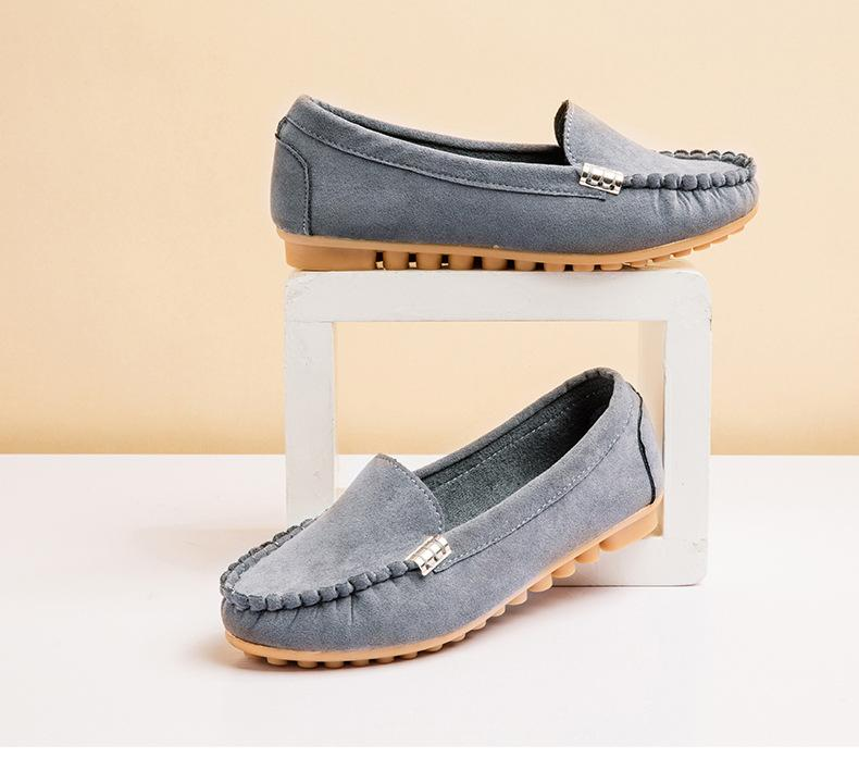 Casual Flat Portable Soft Loafers For Women