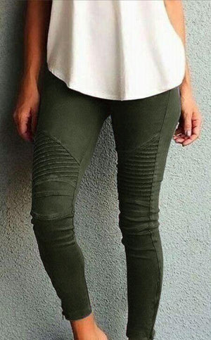 Fashion Casual Slim Tight Elastic skinny Pants