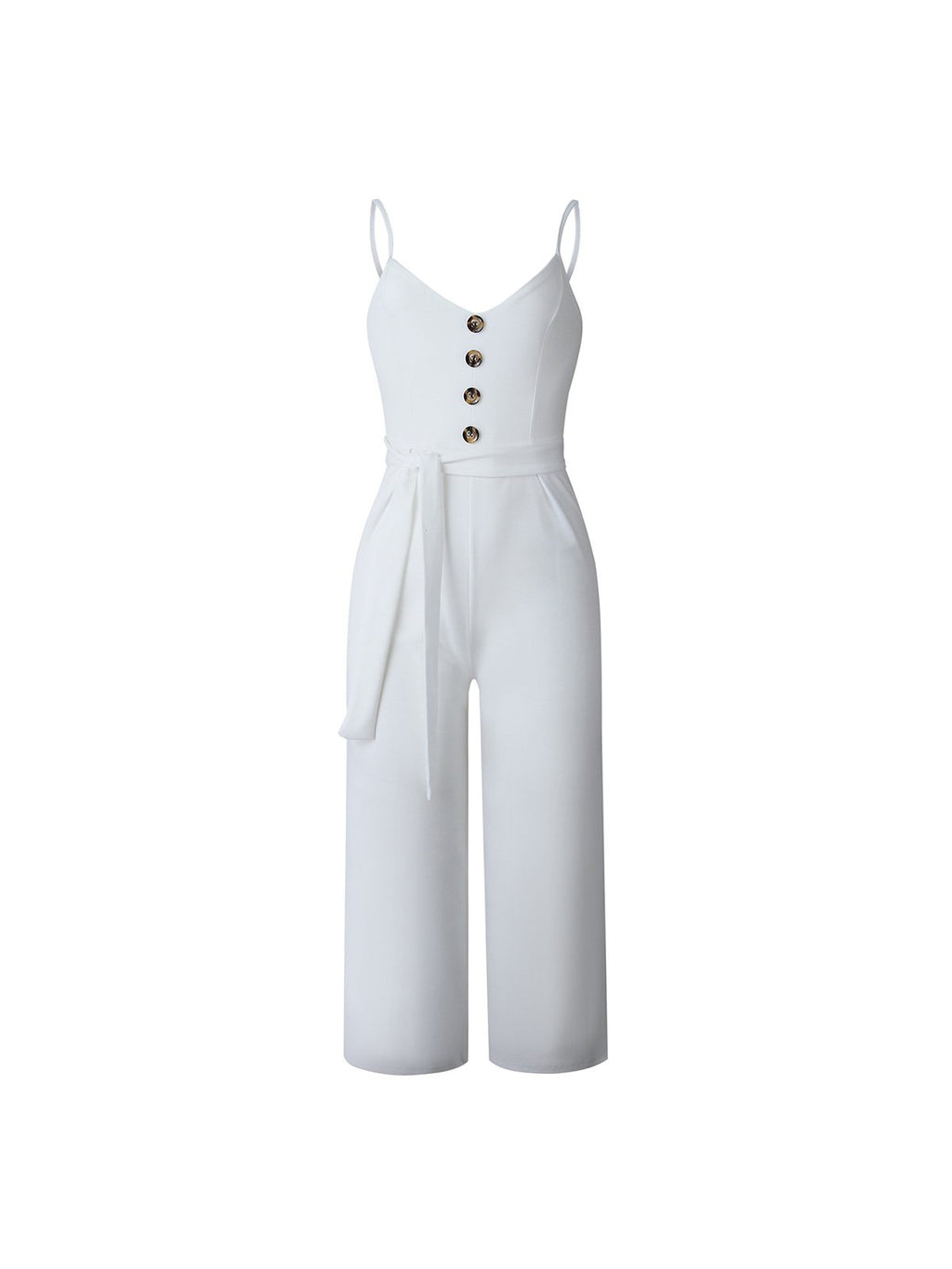 Spahetti Strap Self-tied Women Jumpsuits