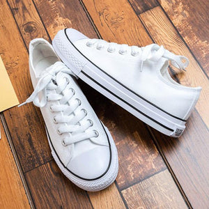 Classic Canvas Flat Casual Sneakers