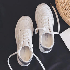 Artificial Leather Sneakers School Spring Shoes