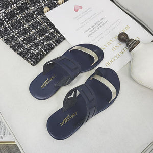 Hollow-out Beach Slippers Large Size PU Shoes