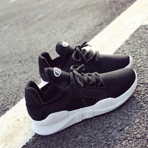 Athletic Style Slip-proof Lace-up Sneakers